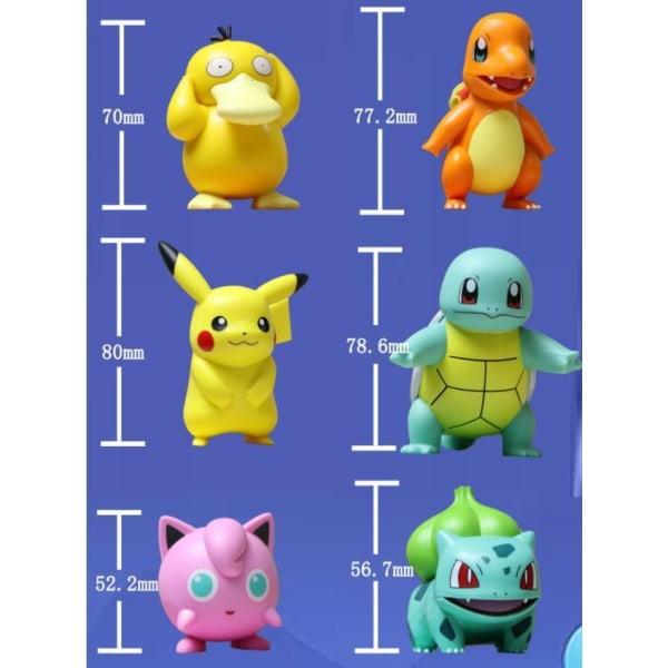 Original Pikachu Pokemon Figurer 8CM Ny Model Model 5