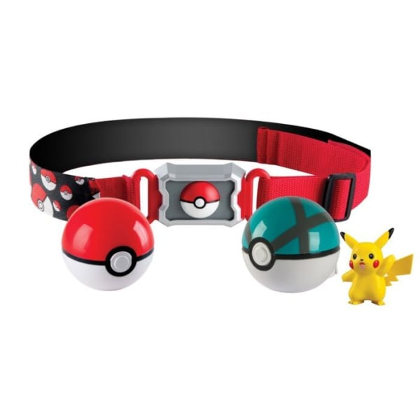 Pokémon Clip N Carry Poké Ball Belt- Pokemon Pikachu