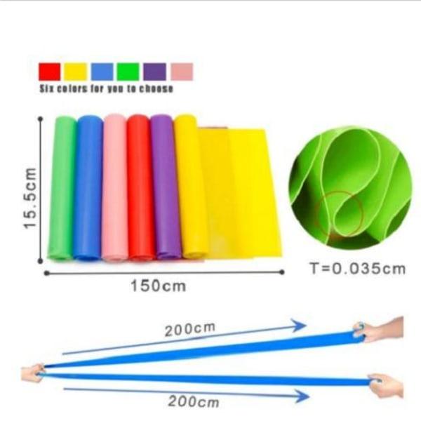 Träningsband-Gummiband för stretching och mångsidig Guld