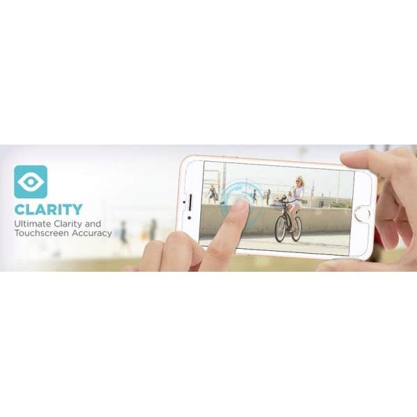 2 st härdat glas för iphone 7+/8+ 2.5D
