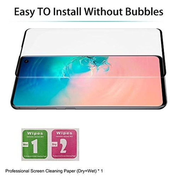 2 st heltäckande skärmskydds för Samsung s10