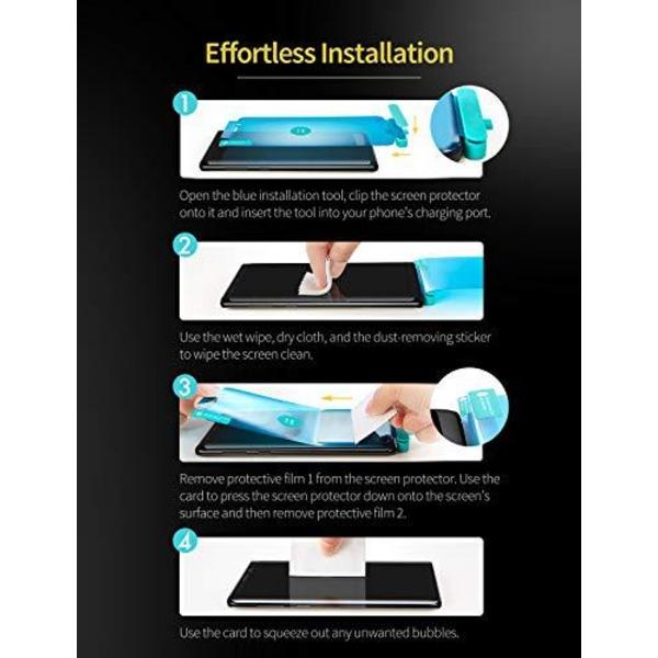2 st Nano filmfolie för  Samsung A51