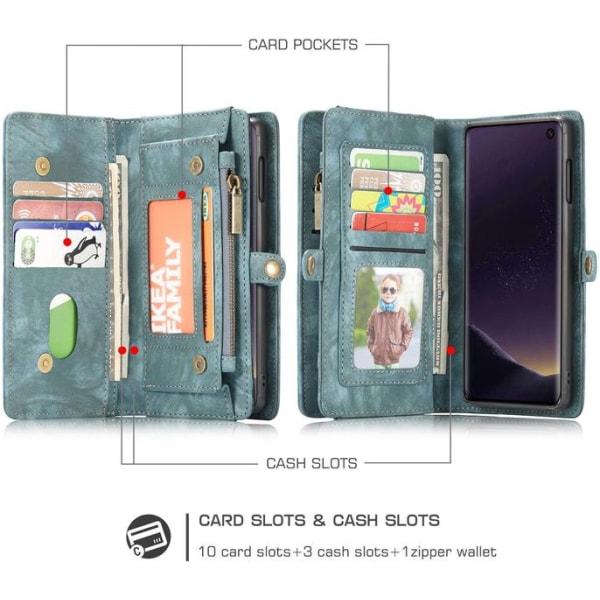 CaseMe 008 för Samsung S10 plus grön Green