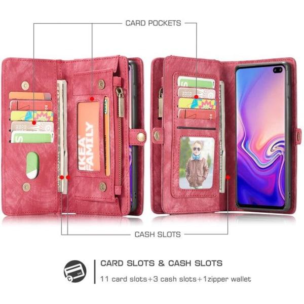 CaseMe 008 för Samsung S10 plus röd Red
