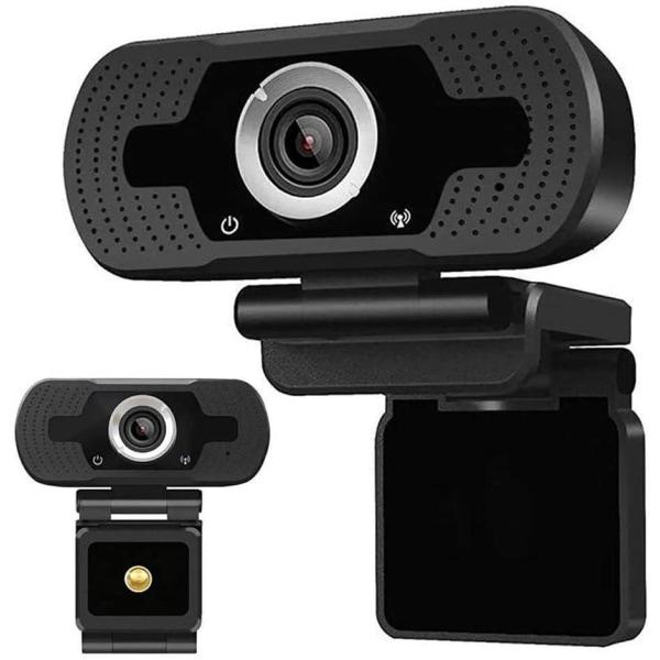 1080P HD webbkamera med inbyggd mikrofon, USB 2.0 (PC & MAC)