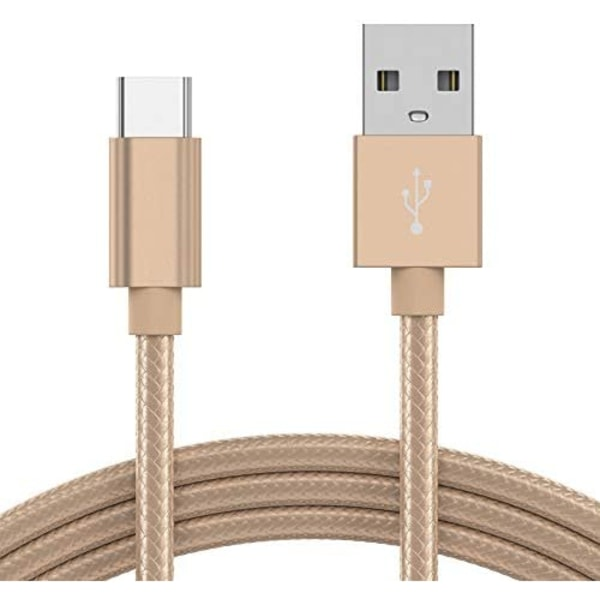 1M USB-C Laddkabel Charge 3A Type-C