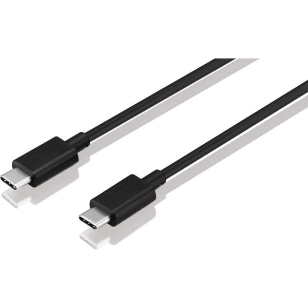 Synk- och laddkabel USB-C till USB-C 1M