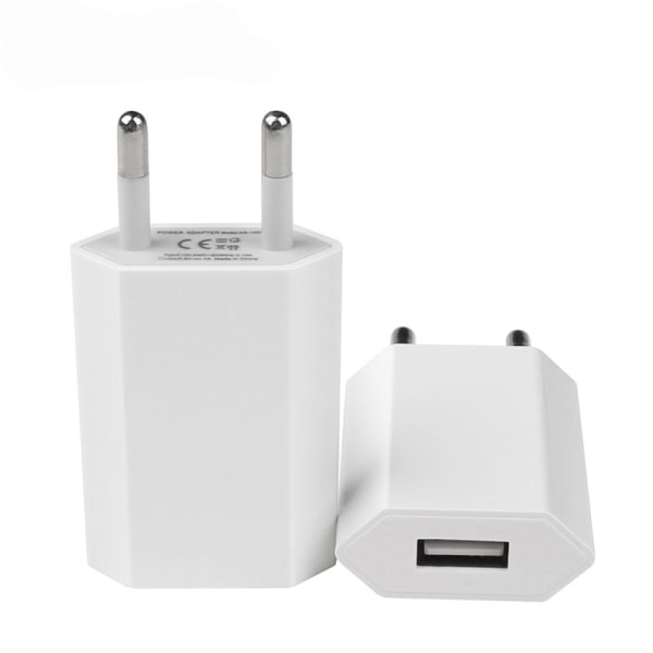 (3st) Universell USB Laddare Väggadapter 1A (Samsung , Iphone)