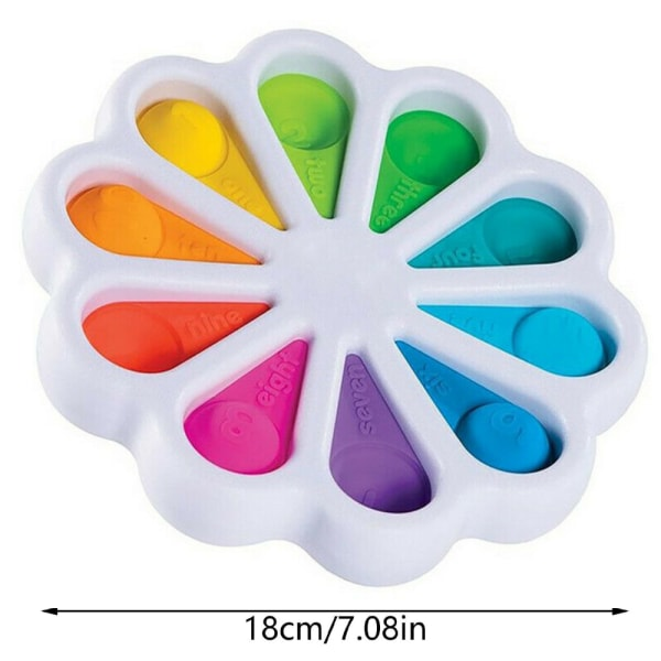 Baby Simple Dimple Sensory Fidget Toy Flipping Barnleksaker