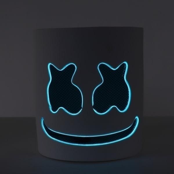 Behöver du montera-LED DJ-mask cosplay tillbehör hjälm party