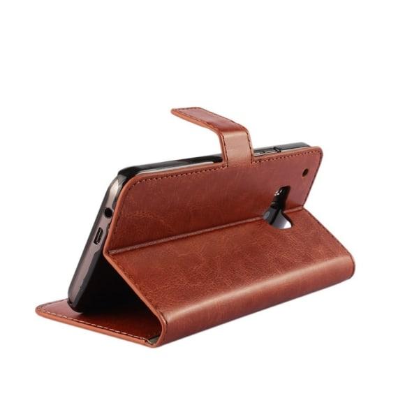 HTC One A9 plånboksfodral - brun