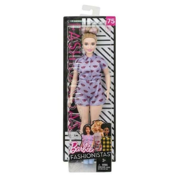 Barbie Fashionistas Curvy Caucasian Lavender Kiss Romper