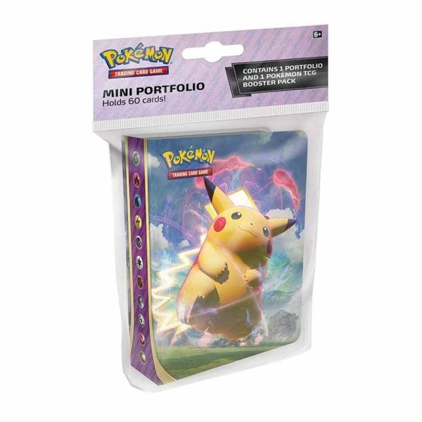 Pokemon Sword & Shield Vivid Voltage Booster + Portfolio Pärm