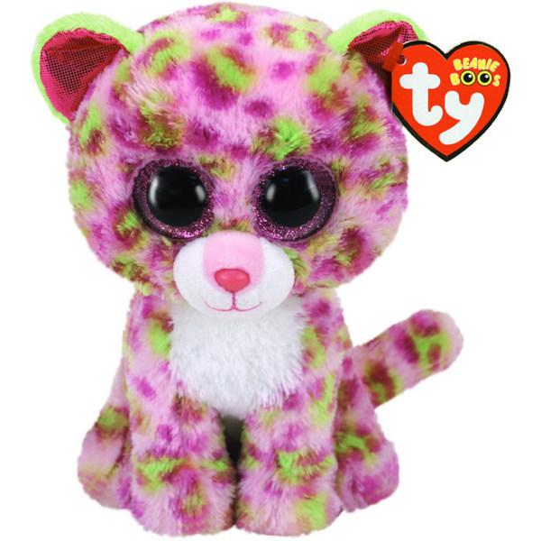 TY Beanie Boos Lainey Pink Leopard 15cm