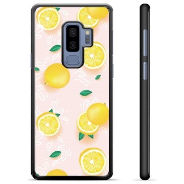 Samsung Galaxy S9+ Skyddsskal - Citronmönster Animerad