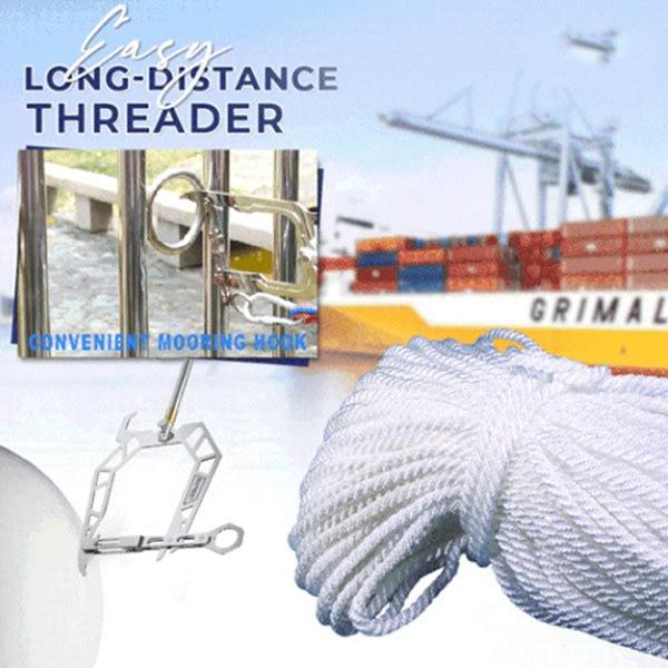 Båt Långdistans Threader Förtöjning Threader Teleskopkrok