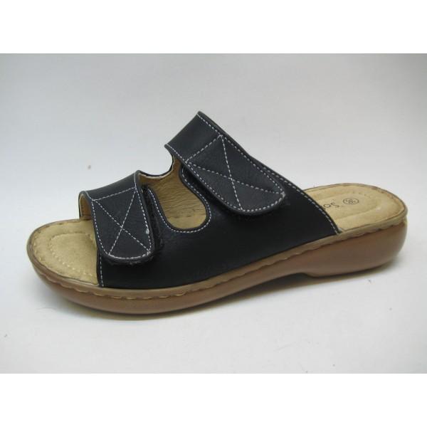 Sandal slip in tofflor Soft Dreams toffel svart 40