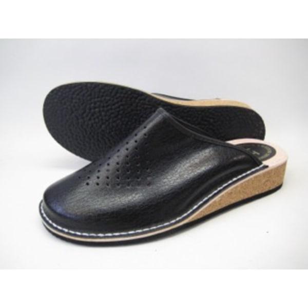 Slippers Skinn slipper Innetofflor herrtofflor klassisk slipper  44