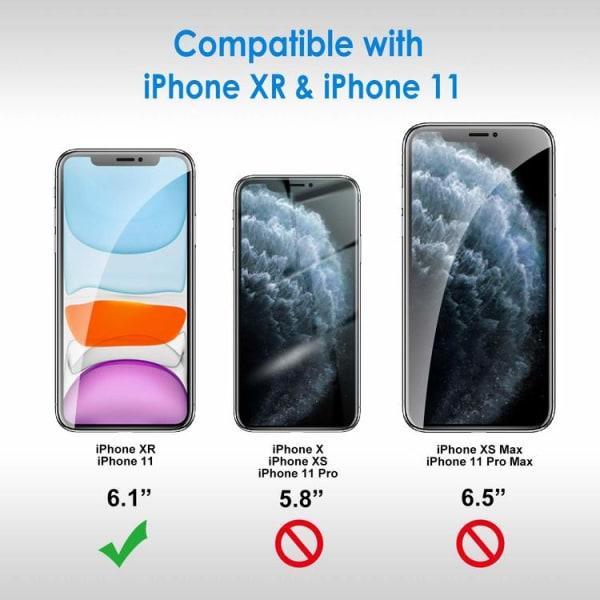 2-pack Härdat glas Skärmskydd iPhone 11