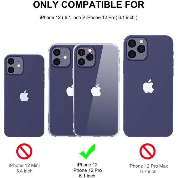 2-pack iPhone 12/12 Pro 6,1 Inch Härdat Heltäckande Skärmskydd