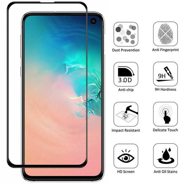 2-Pack Samsung Galaxy S10 Plus - Härdat Glas Skärmskydd