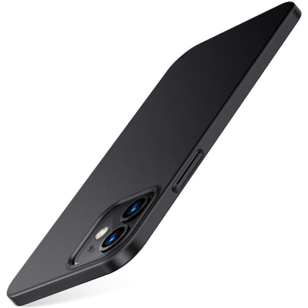 iPhone 12 Mini Skal - Matt Svart