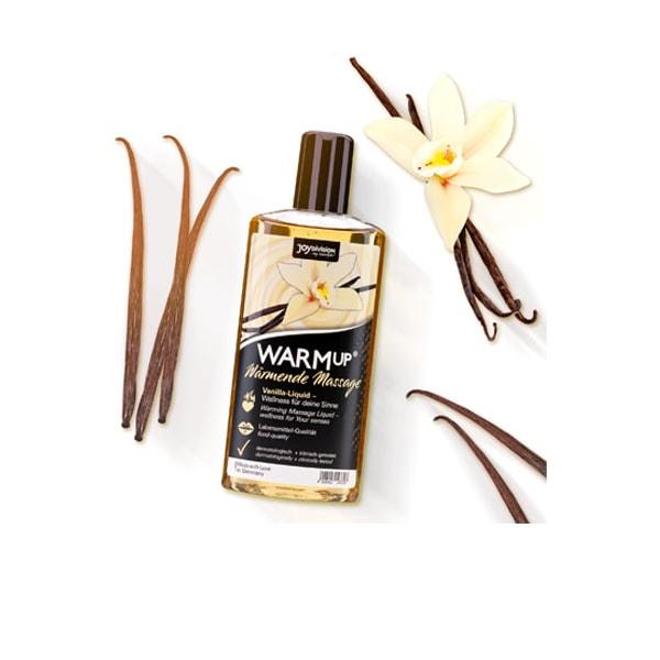 Joydivision Warm-up Massage Oil Vanilla 150ml Massageolja
