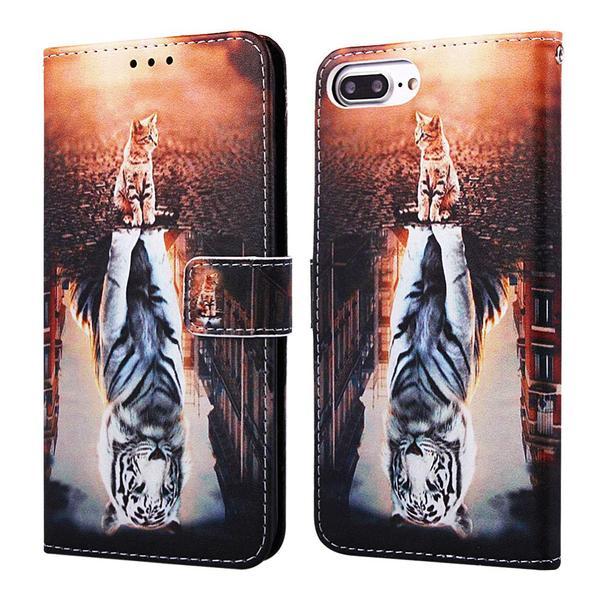 Plånboksfodral Apple iPhone 7 Plus – Reflektion