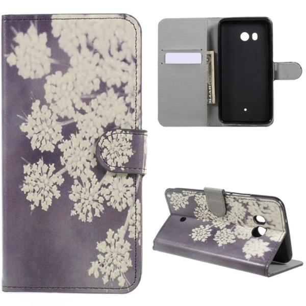 Plånboksfodral HTC U11 – Små Blommor