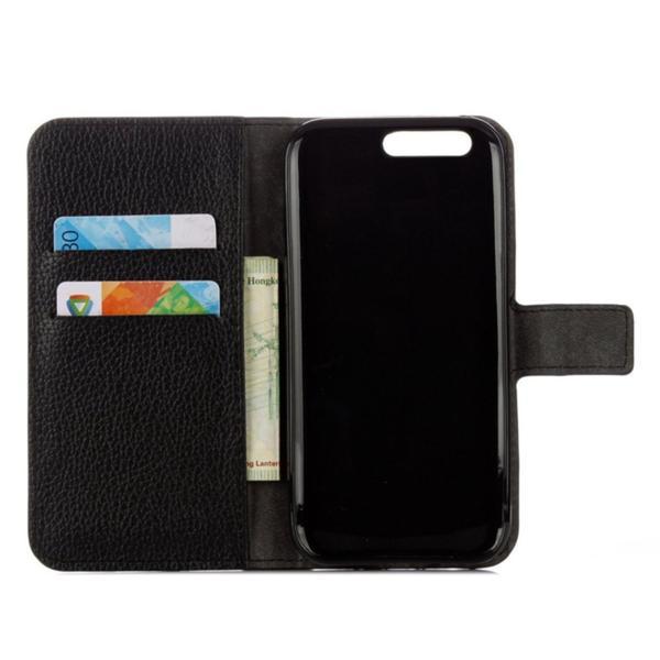 Plånboksfodral Huawei P10 Plus - Svart Svart