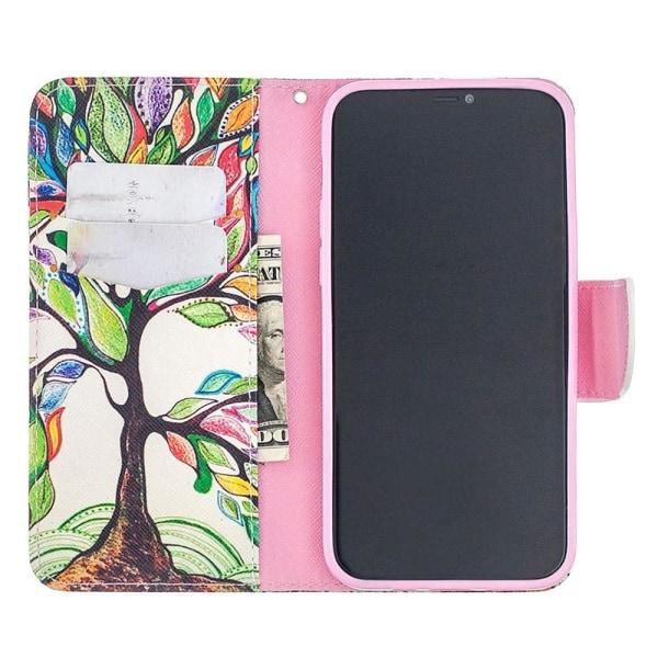 Plånboksfodral iPhone 12 Pro Max – Färgglatt Träd
