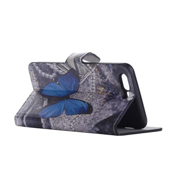 Plånboksfodral Oneplus 5 – Blå Fjäril