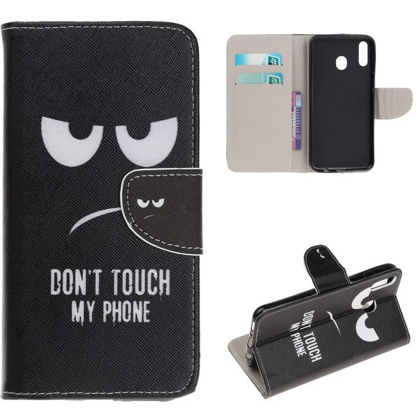 Plånboksfodral Samsung Galaxy A20e - Don't Touch My Phone