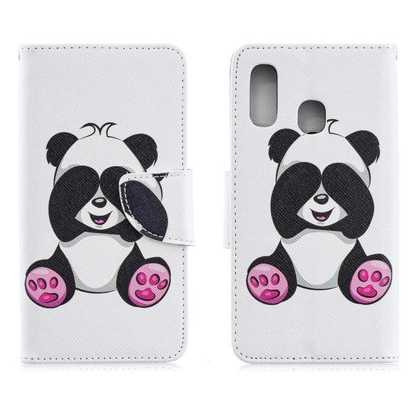 Plånboksfodral Samsung Galaxy A20e - Panda
