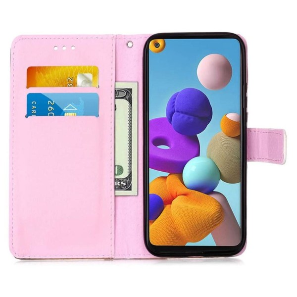 Plånboksfodral Samsung Galaxy A21s – Enhörning