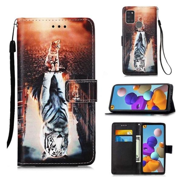 Plånboksfodral Samsung Galaxy A21s – Reflektion