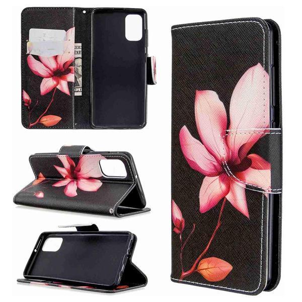 Plånboksfodral Samsung Galaxy A71 – Rosa Blomma