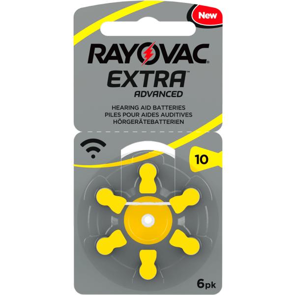 10 Rayovac 10-Pack HörappBatt