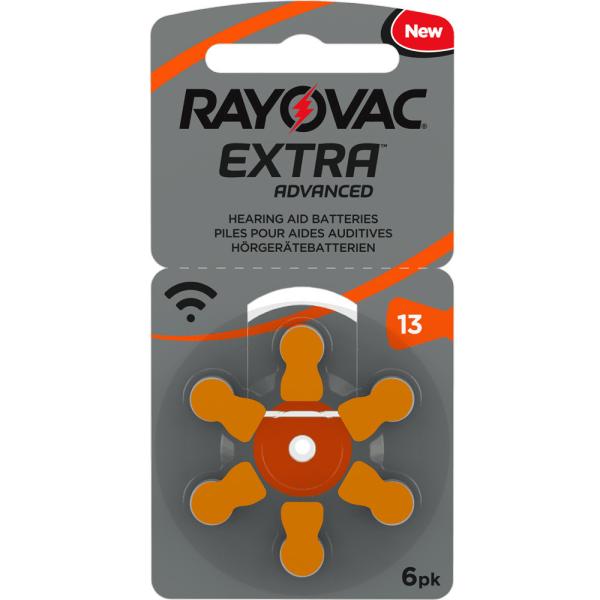 13 Rayovac 10-Pack HörappBatt