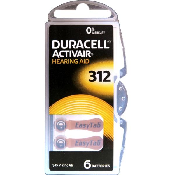 312 Duracell Activair 1-P 6st