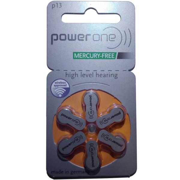 P13 PowerOne 10-Pack HörBatt.