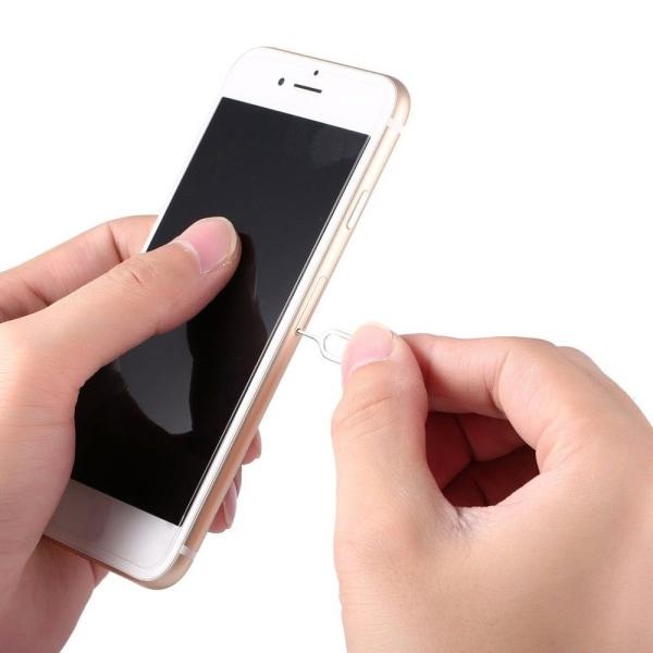 10x Simkortsnyckel iPhone/iPad/Samsung/Sony
