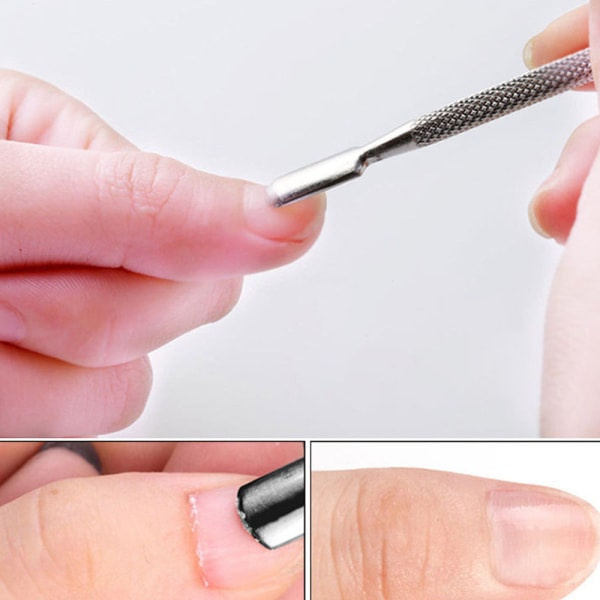 2 in 1 Nagelbands pusher