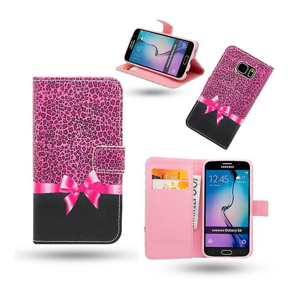 Fodral / Plånbok i Läder - Samsung Galaxy S6