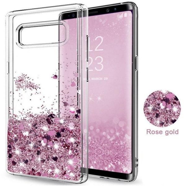 Galaxy S7 - Flytande Glitter 3D Bling Skal Case