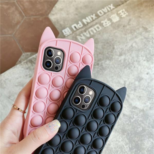 iPhone 12 / iPhone 12 Pro - Fodralskydd Pop It Fidget iPhone 12 Pro Rosa