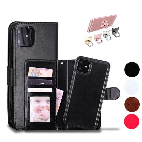 iPhone 12 Pro Max - Läderfodral / Skydd Rosa