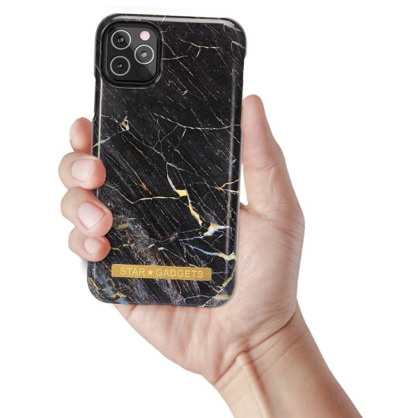 iPhone 12 Pro - Skal / Skydd / Marmor Svart
