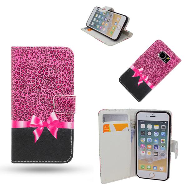 iPhone 6 / 6S - Fodral / Plånbok Läder - Rosett