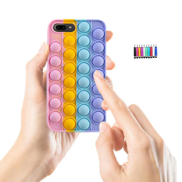 iPhone 6 Plus / 7 Plus / 8 Plus - Fodralskydd Pop It Fidget iPhone 8 Plus